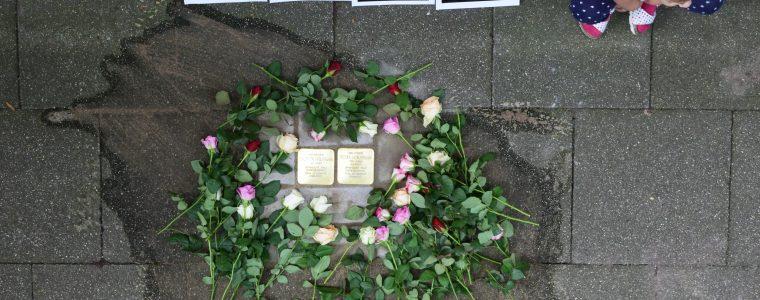 Stolpersteine: Jeder Mensch hat einen Namen – Erinnerungskultur im öffentlichen Raum