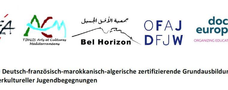 TRANSMED: Deutsch-französisch-marokkanisch-algerische Grundausbildung zur Leitung interkultureller Jugendbegegnungen -Teil I