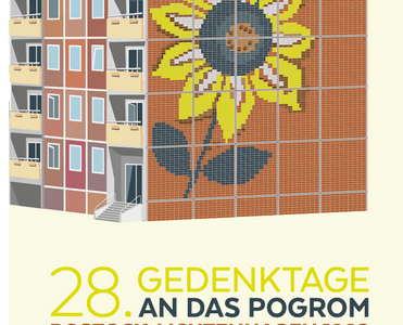 """Ausstellung: """"Von Menschen, Ansichten und Gesetzen. Rostock-Lichtenhagen – Mitten unter uns"""""""