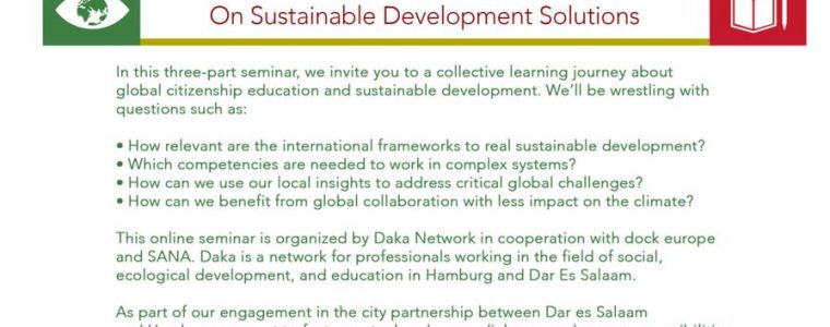 Seminar Meeting Halfway – On sustainable development solutions