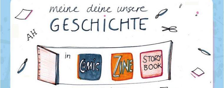 """Zine-Workshop """"Meine, deine, unsere Geschichte"""""""