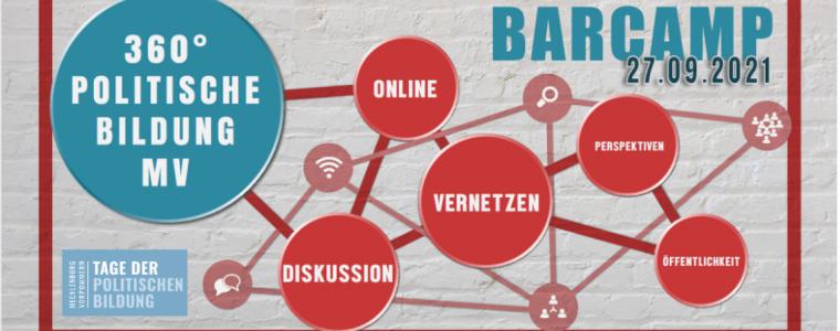 Barcamp: 360° politische Bildung in M-V